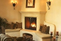 fireplaces / by Kim Hazlett