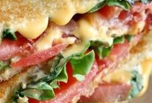 Grilled lettuce Tomato and Cheese