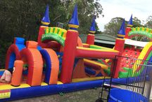 Inflatable obstacle courses / Inflatable obstacle courses for hire in Brisbane, Sunshine Coast, Gold Coast and Gympie.