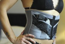 Limited Edition PETITE Shadow / The limited edition PETITE Shadow concealed carry corset. www.deneadams.com