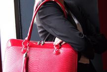 Red Bags that Work / The colour Red means Passion.  At work it shows you're passionate about what you do.  Here are some great bags that help you stay organised while you demonstrate your passion at the office!