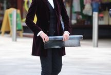Peter Capaldi ( filming Dr Who)