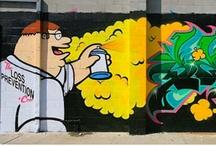 Graffiti  / by Andrea Strohl