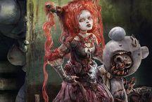 Horror & beautiful art
