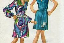 Mom Made One / Every so often,  I stumble on a pattern I know my mother sewed from. So 60's and 70's!