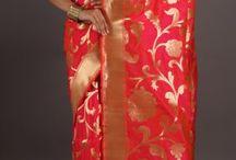 Banaras pure brocade saree
