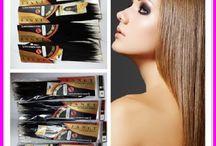 human hair / 100%human hair ,good quality.