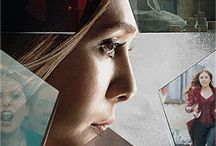 Elizabeth Olsen/Scarlett Witch & Aaron Taylor-Johnson/Quicksilver