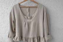 блузы льняные
