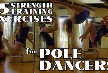 POLE DANCE - ćwiczenia wzmacniające