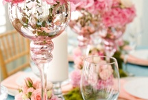 DIY Centerpieces / These centerpieces are inexpensive ways to make your next dinner party or event extra special. Everyone will think that you fussed, but you know that you didn't.