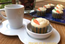Ideas dulces: muffins, cupcakes,