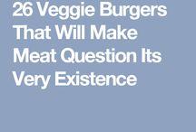 Wegetarianskie burgery
