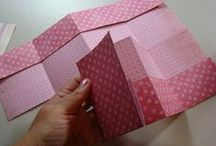 folded over mini album