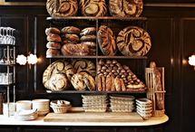 Pains et boulangerie / Pains et boulangeries du monde. Bread and bakery of the world