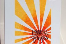 Cards with Sunburst - Neat & Tangled + Stampin Up