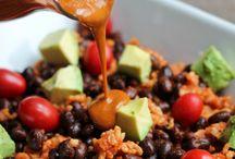 Vegan recipes / High carb low fate vegan recipes
