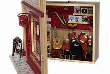 miniatures rooms