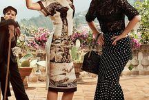Travel Advertising / Dolce and Gabbana Spring Summer 2014 with Eva Herzigova set in beautiful Italian campagna!