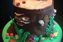 Woodland & Garden themed cakes / Inspiration and ideas for woodland and garden themed cakes