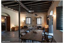 AIOLOU - Pigi / The renovation of a stone built, 2 storey family home in Pigi, Greece.