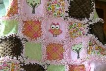 Rag quilt + quilt / inspirace