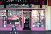 Simply Pleasure Bristol / 30 Bond Street, Bristol, BS1 3LX 0117 925 3714 Bristol@Simplypleasure.com