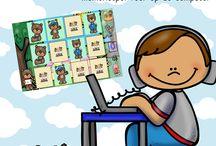 spelletjes op de computer van katrotje