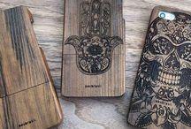 capinha de madeira