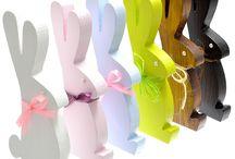 Ozdoby Wielkanocne / Dekoracje wielkanocne z drewna