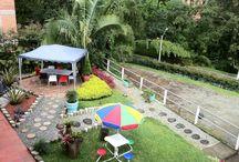 Jardin / En el Jardín de Kolor Hotel Boutique puedes desayunar, tomar un café, leer un libro, trabajar en tu computador o simplemente pasar la tarde en un ambiente tranquilo y rodeado de naturaleza.