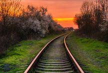 Treni e natura