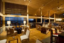 Chao Pescao small plates bar / Inside Andaz Peninsula Papagayo Resort Costa Rica is a place designed for kicking back and sampling the chef's seasonal gourmet creations, Chao Pescao restaurant in Costa Rica offers open terraces, tall wooden ceilings, and warm atmosphere. Check our schedule for live music!