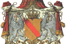 Almanach de Saxe Gotha - Grand Duchy of Baden - House of Zähringen / The Grand Duchy of Baden was a historical state in the southwest of Germany, on the east bank of the Rhine. It existed between 1806 and 1918. Baden came into existence in the 12th century as the Margraviate of Baden and subsequently split into different lines, which were unified in 1771. Almanach de Saxe Gotha Page: http://www.almanachdegotha.org/id4.html