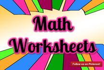 Math Worksheets / Math Worksheets! Do you have a Math Worksheets you'd like to share? Contact me to become a contributor on this board: http://mathfilefoldergames.com/contact
