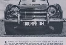 Triumph / Vintage Sports Car Advertisements