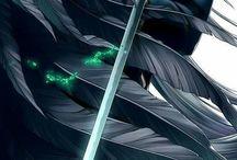 s e p h i r o t h / Sephiroth, One Winged Angel, my husband