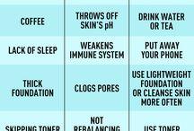 Skincare Infographics