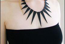 Diy bijoux geometric