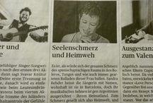 Prensa / Artículos/ entrevistas/crónicas de conciertos de Sandra Rehder