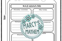 Teaching Ideas From Marcy's Mayhem / Resources for elementary and early middle school students.