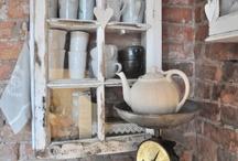 old window cupboards