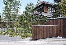 Pika-Pika / Twice-brushed shousugiban for exterior siding and paneling