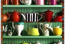 Tea Pots / Because / by Janet Linda Ellicott