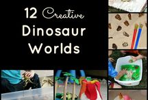 Dinosaurs crafts and activities