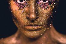 Portrait | Gold/Glitter