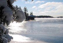 Fairy Lake, Muskoka / The beauty of Fairy Lake in Huntsville, Ontario Muskoka