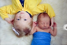 Newborn with siblings / by Amber