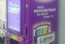 Smart Vending Pfizer / Smart vending de InnovaPos fabricada para Pfizer