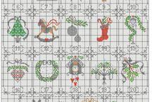 Vyšívání - adventní kalendář